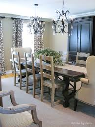 colors for dining room walls drapery panels for a gray dining room driven by decor