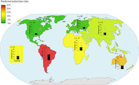 Climate Map Of North America by Climate Change Could Wipe Out 16 Percent Of World U0027s Species