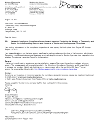 letter of compliance august 19 2015 community living