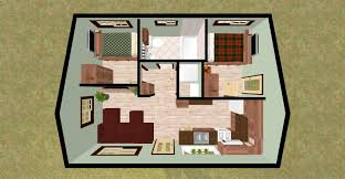 modern 2 bedroom 1000 ft home design plans 3d including simple one