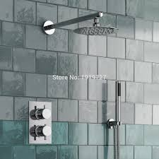 Bathroom Shower Systems Style Concealed Thermostatic Mixer Valve Handheld Bathroom