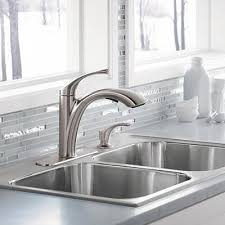 Kitchen Sink Faucet Glamorous 18 Kitchen Sinks And Faucets Lowes Drop In Copper Sink