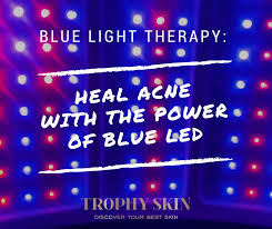 best blue light for acne blue light therapy heal acne with the power of blue led trophy skin