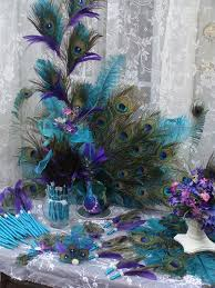Peacock Feather Centerpieces by 100 Best Peacock Floral Centerpiece Images On Pinterest Peacock