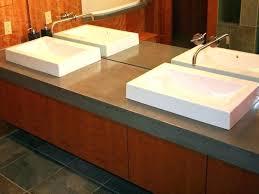 how to build a concrete sink modern concrete sink modern concrete vanity top by modern concrete