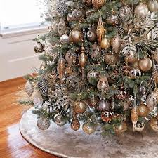 mixed metals 60 pc ornament collection trees wreaths