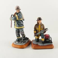 firefighter figurines hats of courage firefighter figurines ebth