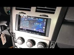 2008 dodge avenger uconnect 2007 2014 dodge avenger stereo install w steering volume
