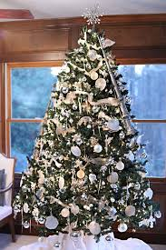 Silver And White Christmas Decorations Christmas Crasher Bower Power