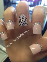 cheetah print nail design nail designs instagram nailsbyhenryl