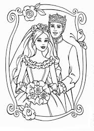 printable barbie wedding coloring pages periodic tables