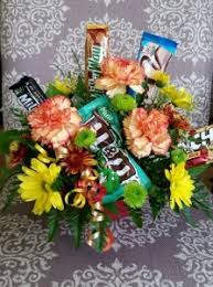 candy bar bouquet candy bar bouquet bouquet in tillamook or florist