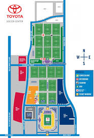 Dallas Map Program by King Tut Presented By Toyota Fc Dallas