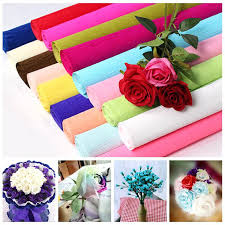 where can i buy wrapping paper craft papers online crepe papers wrapping flowers packing material
