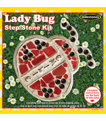 Bed Sheets For Summer Men U0027s Journal Milestones 8 U0027 U0027 Mosaic Stepping Stone Kit Lady Bug Joann