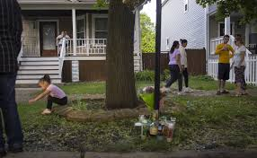 the next day living around gun violence chicago tribune