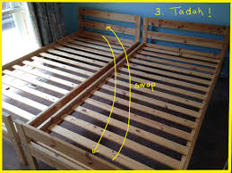 Ikea Mydal Bunk Bed Mydal Bunk Bed To Single Beds Ikea Hackers