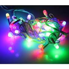 decoration lights for party multi colour festival diwali wedding party led flashing string home