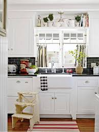 kitchen top cabinets decor ideas for decorating above kitchen cabinets better homes