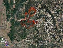 California Wildfires Hume Lake by Pioneer Fire In Idaho Is One Of 5 Fires In Us With Over 1 000