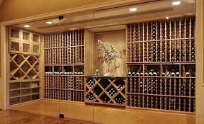 wine rack glass enclosed wine cellars commercial wine cooler