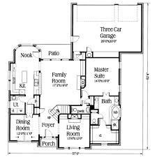 european style house plan 4 beds 2 50 baths 2592 sq ft plan 317 101
