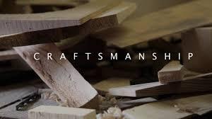 craftsmanship on vimeo