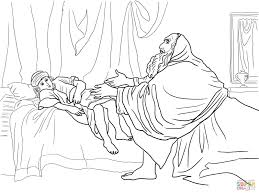 bible story elijah coloring page at coloring pages eson me
