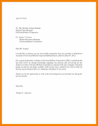 resignation letter example sample of airline pilot resignation