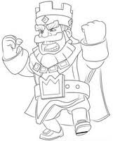 coloring pages clash royale drawing