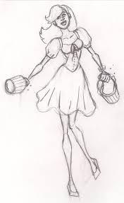 adam huge u0027s fable snow white sketch shingo pest deviantart