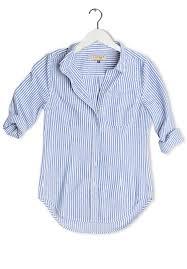 navy blue blouse rina navy blue pin striped linen shirt camixa