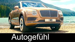 bentley suv 2016 all new bentley bentayga luxury suv exterior interior interviews