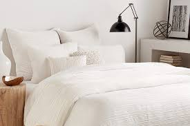 Duvet Size Chart Dkny City Pleat White Bedding Collection