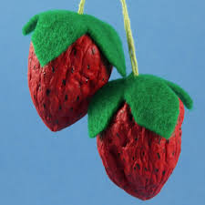 make sweet strawberries from walnuts friday craft projects