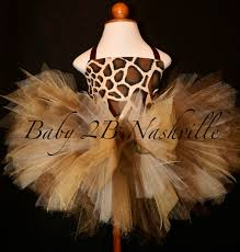 safari giraffe costume with leggings birthday tutu pageant