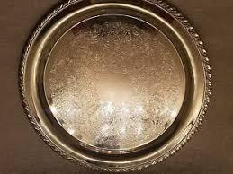 engraved platters oneida silver plate engraved serving tray platter ebay