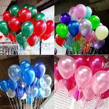Aliexpresscom  Buy 50pcslot 10 Inch Latex Shiny Balloons Air