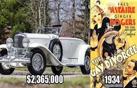 10 most expensive cars from vintage movies photos autojosh