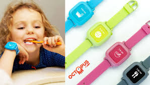 octopus icon based watch and scheduler for kids gadget flow