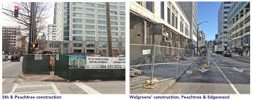 create safe walkways in construction zones