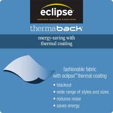 Eclipse Blackout Curtain Liner Blackout Curtain Panels White Business For Curtains Decoration