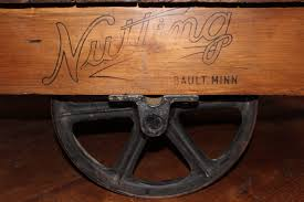 nut cart coffee table unique finds