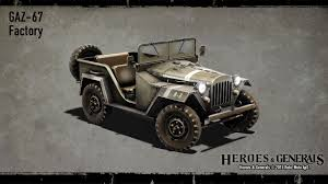 gaz 67 vehicle skins are coming heroes u0026 generals