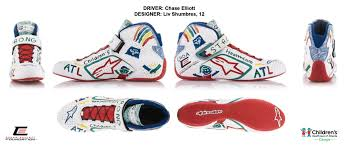 motor racing footwear nascar driver chase elliott launches chase elliott foundation with