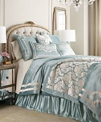 Pottery Barn Alessandra Duvet Luxury Blue Bedding