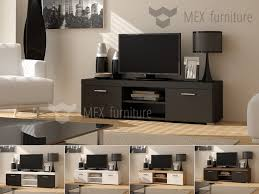 Furniture For Tv Set High Gloss Tv Cabinets Unit Mex Furniture