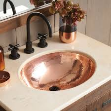 classic copper bathroom sink cps268 native trails