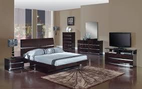 modern bedroom sets leather inside elegant bedroom with table