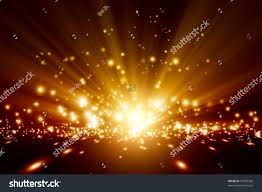 abstract background bright orange lights stock illustration